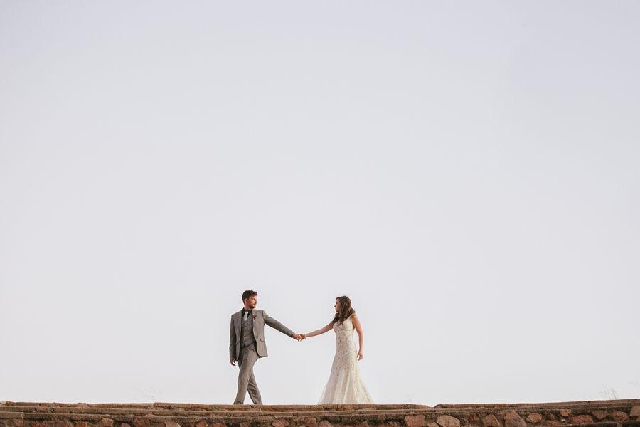 Mountain Desert Wedding
