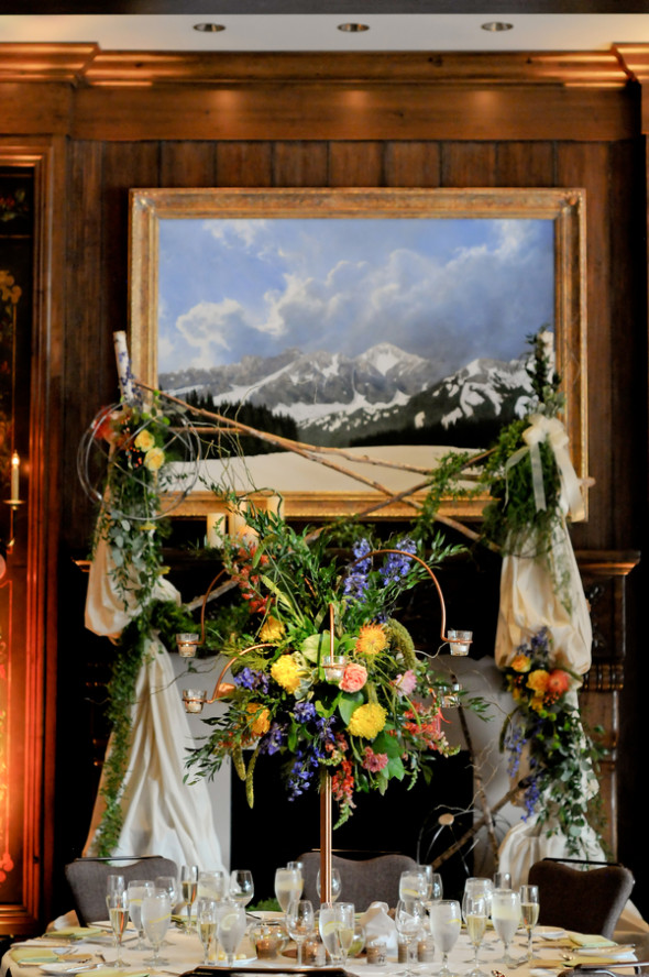 Stein eriksen lodge wedding rustic wedding chic for Angela decoration