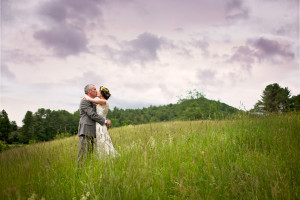 Mountain Top Vermont Wedding