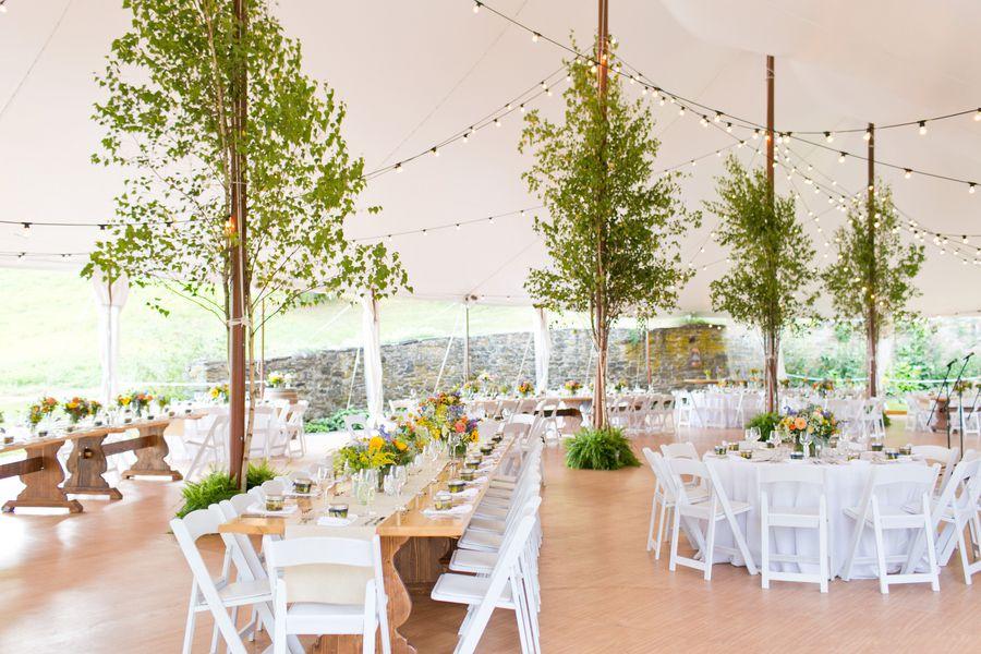 Rustic Tented Wedding