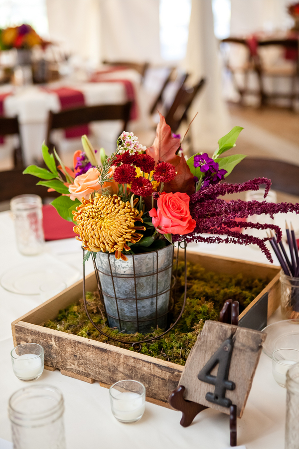 Elegant fall wedding at cedarwood rustic chic