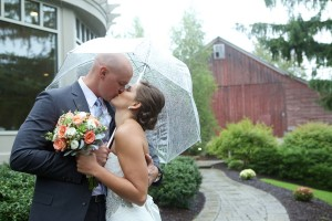 Rustic Poconos Wedding: Cassie + Matt