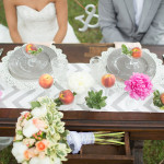 Peach Inspired Wedding