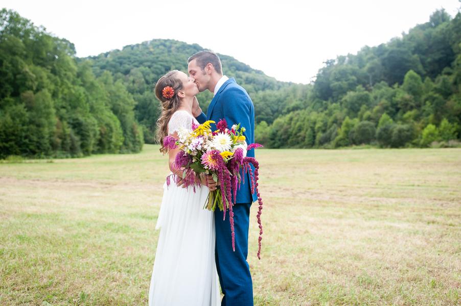 Country Mountain Wedding