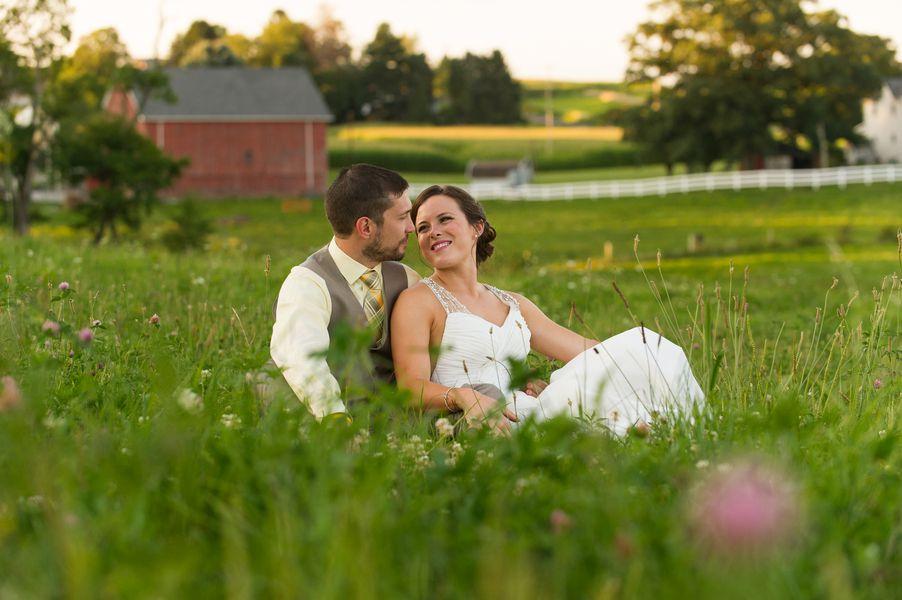 Rustic Style Farm Wedding