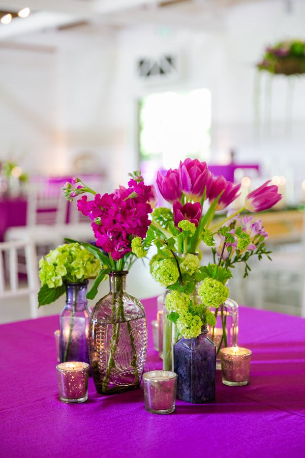 Country Purple Wedding - Rustic Wedding Chic