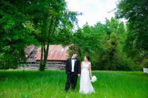 Country Purple Wedding