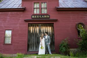 Rustic Maine Wedding: Kristen + Adam