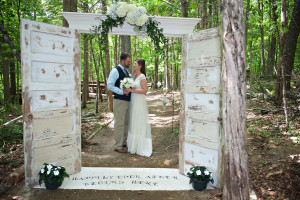 Summer Camp Country Wedding