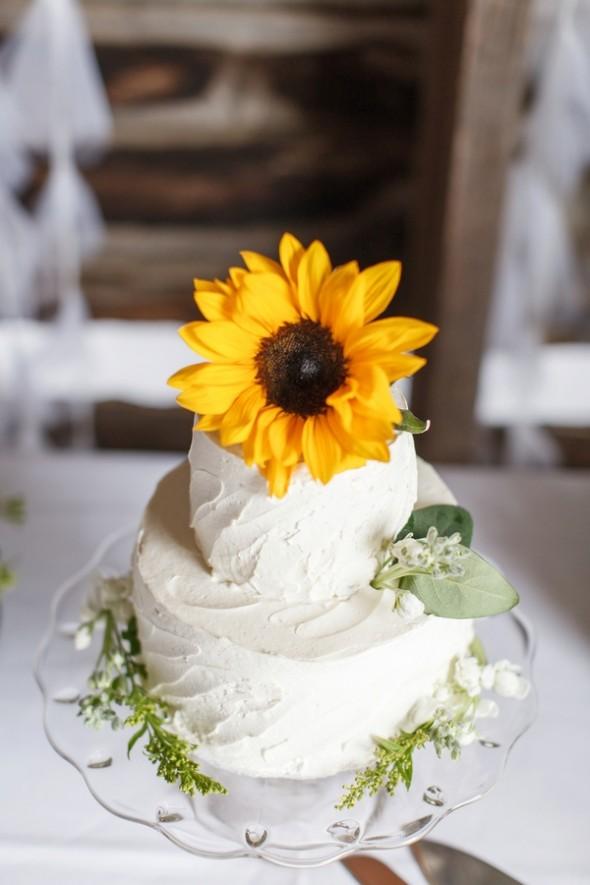 Summer Sunflower Barn Wedding Rustic Wedding Chic