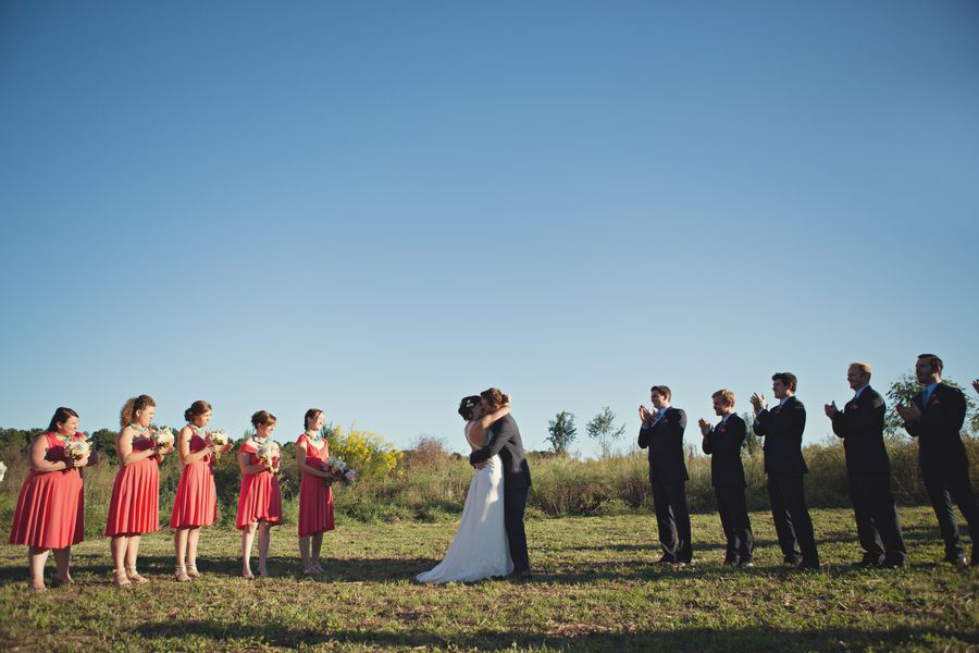 Outdoor Country Wedding Celebration