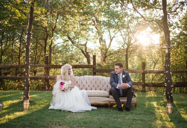 Oklahoma Barn Wedding: Kristen + Tyler