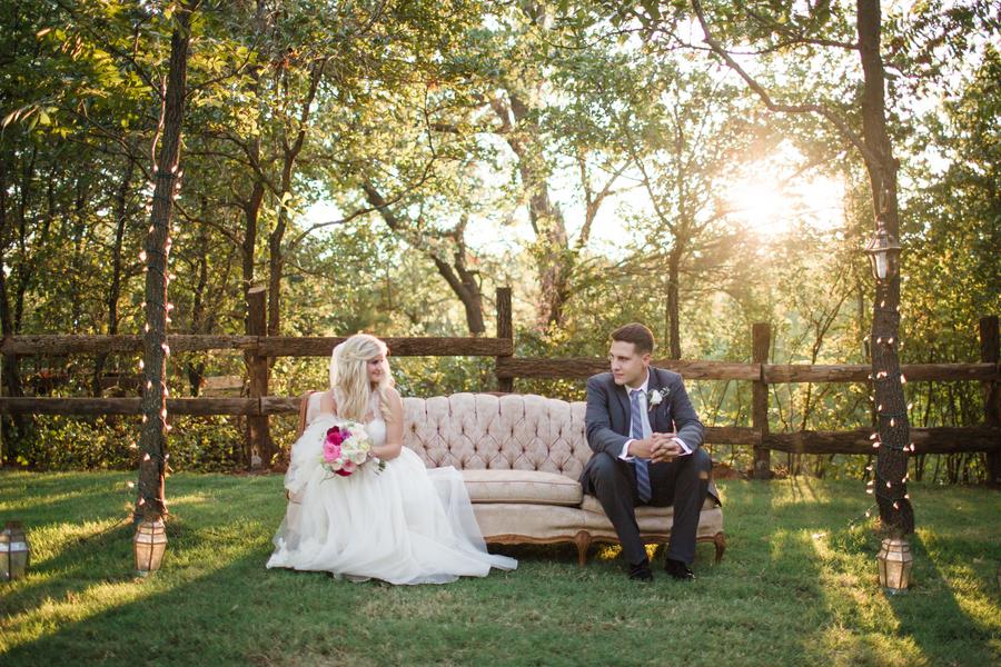 Oklahoma Enchanted Barn Wedding