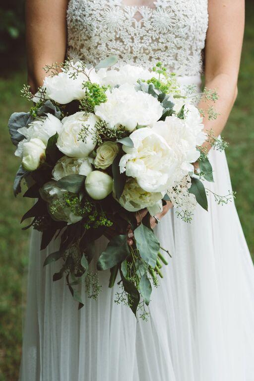 Elegant Rustic Backyard Wedding