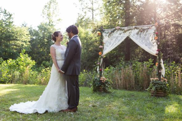 Southern Style Backyard Wedding