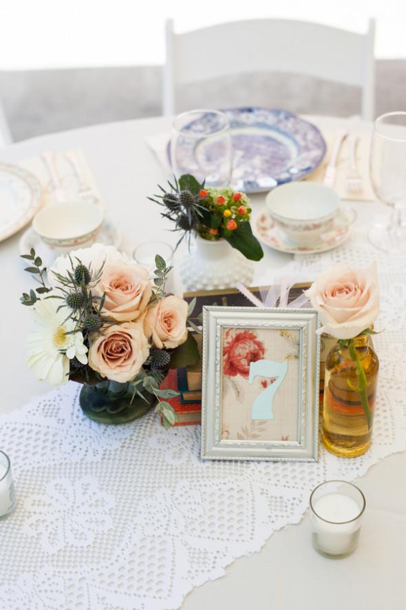 Vintage Wedding Centerpiece