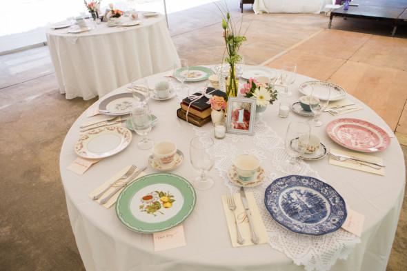 Vintage Wedding Tables