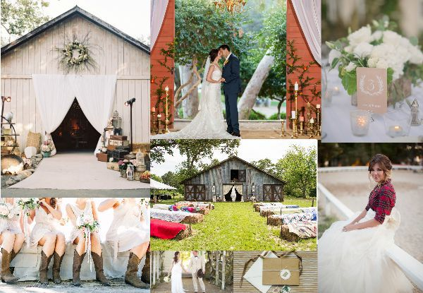 The Ultimate List Of Ideas For A Barn Wedding