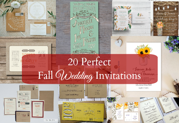 Rustic wedding invitations rustic country wedding invites and ideas see 20 of the best fall wedding invitations filmwisefo Choice Image