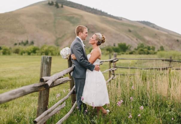 Outdoor Ranch Wedding: Ciera + Eric