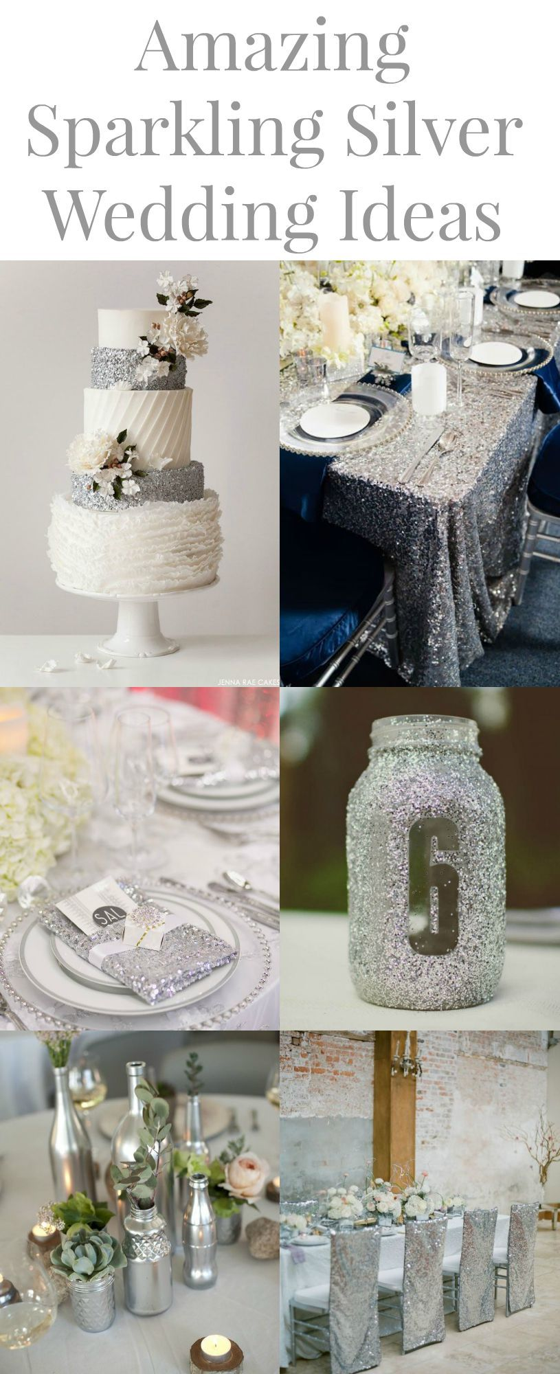 15 silver wedding ideas rustic wedding chic junglespirit Choice Image