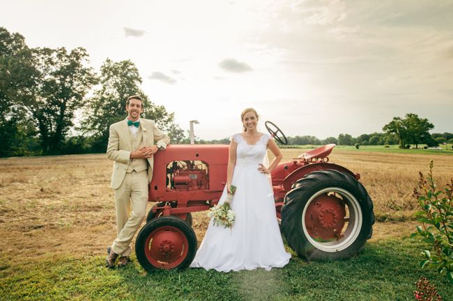 Outdoor Country Wedding ...