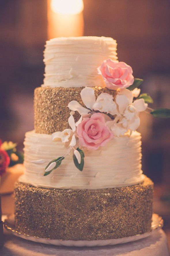 wow wedding cakes 15 gold wedding cakes that will wow you rustic wedding chic 27657