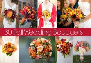 30 Fall Wedding Bouquets