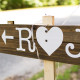 Rustic Style Wedding Sign