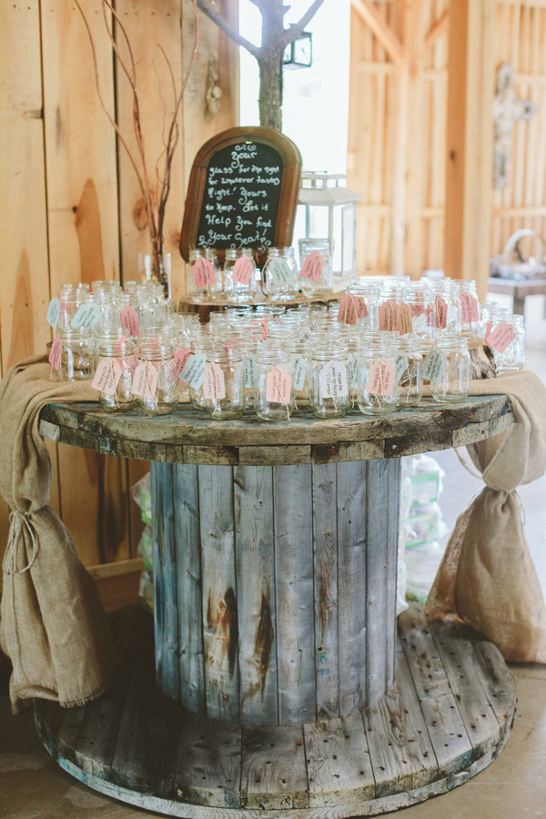 Shabby Chic Barn Wedding Rustic
