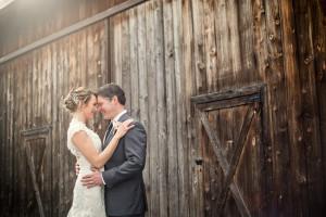 Intimate Barn Wedding