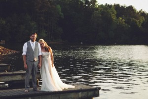 Lakeside Southern Wedding