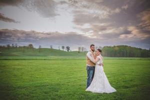 DIY Country Wedding: Kristen + Jordan