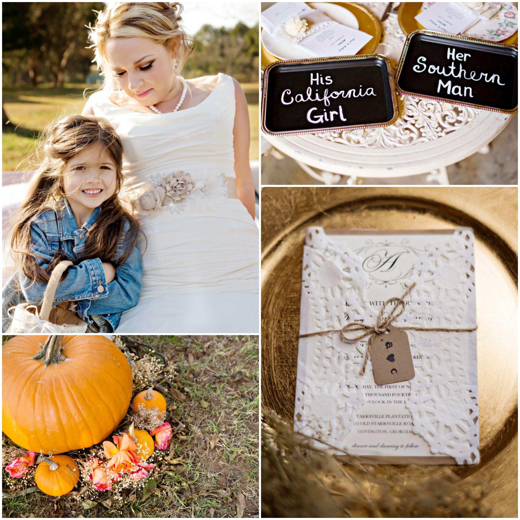 Fall Barn Country Wedding