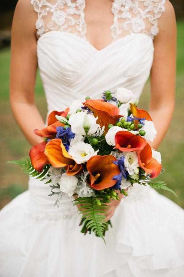 30 Fall Wedding Bouquets - Rustic Wedding Chic