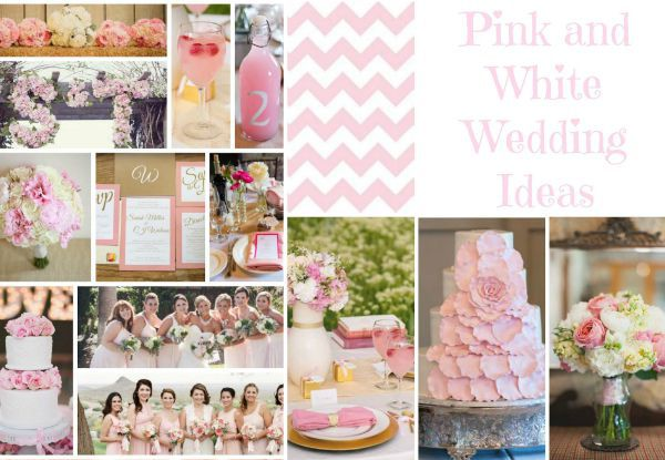 Pink & White Wedding Ideas