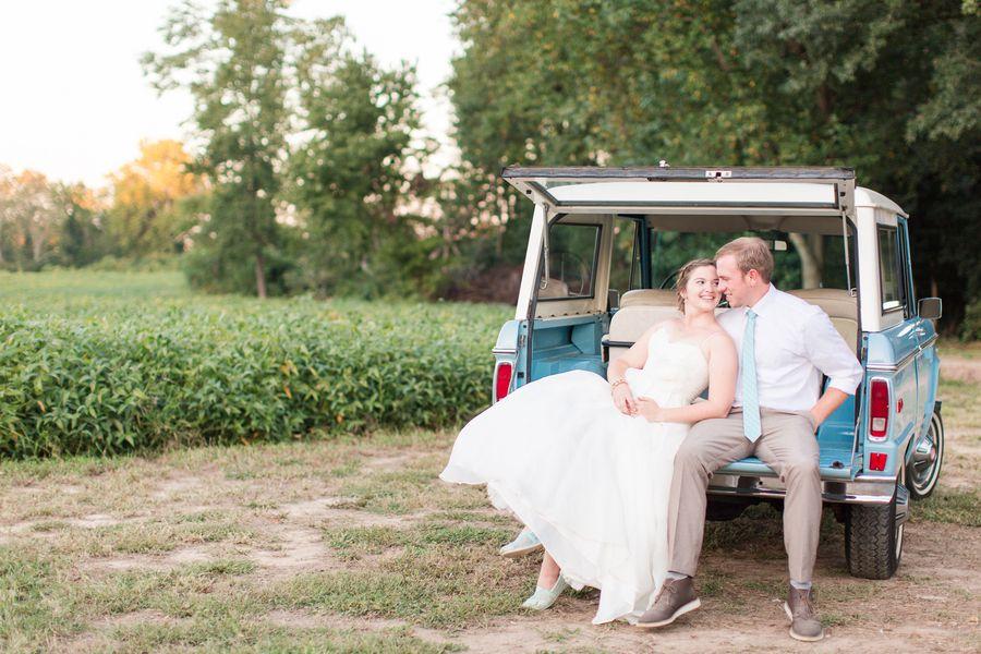 Backyard Farm Wedding