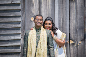Outdoor Rustic Indian Wedding