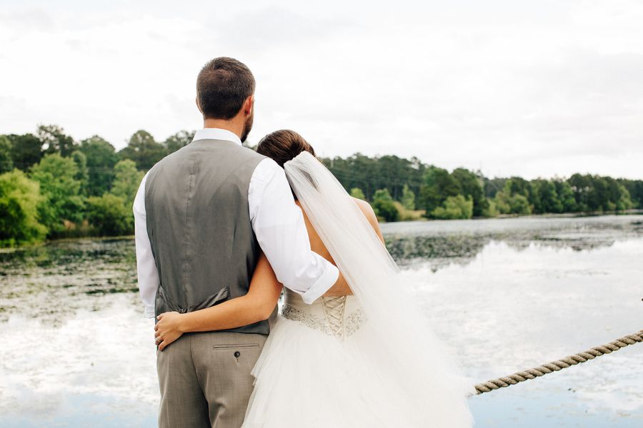 Rustic Lake Wedding
