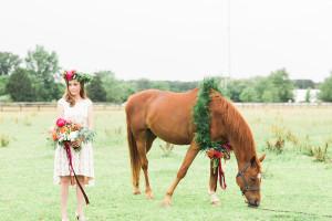 Colorful Farm Wedding Inspiration