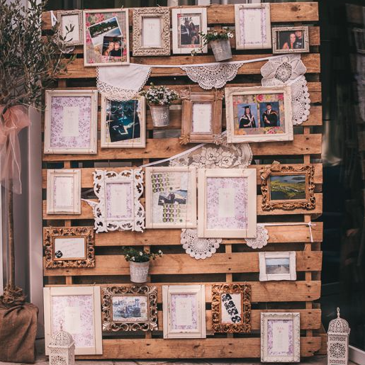 21 Fabulous Wedding Photo Display Ideas Reception: 15 Pallet Sign Ideas For Your Wedding