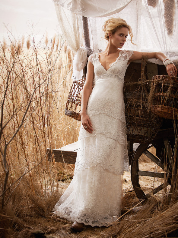 country chic wedding dresses wedding gowns from olvi s rustic wedding chic 3104