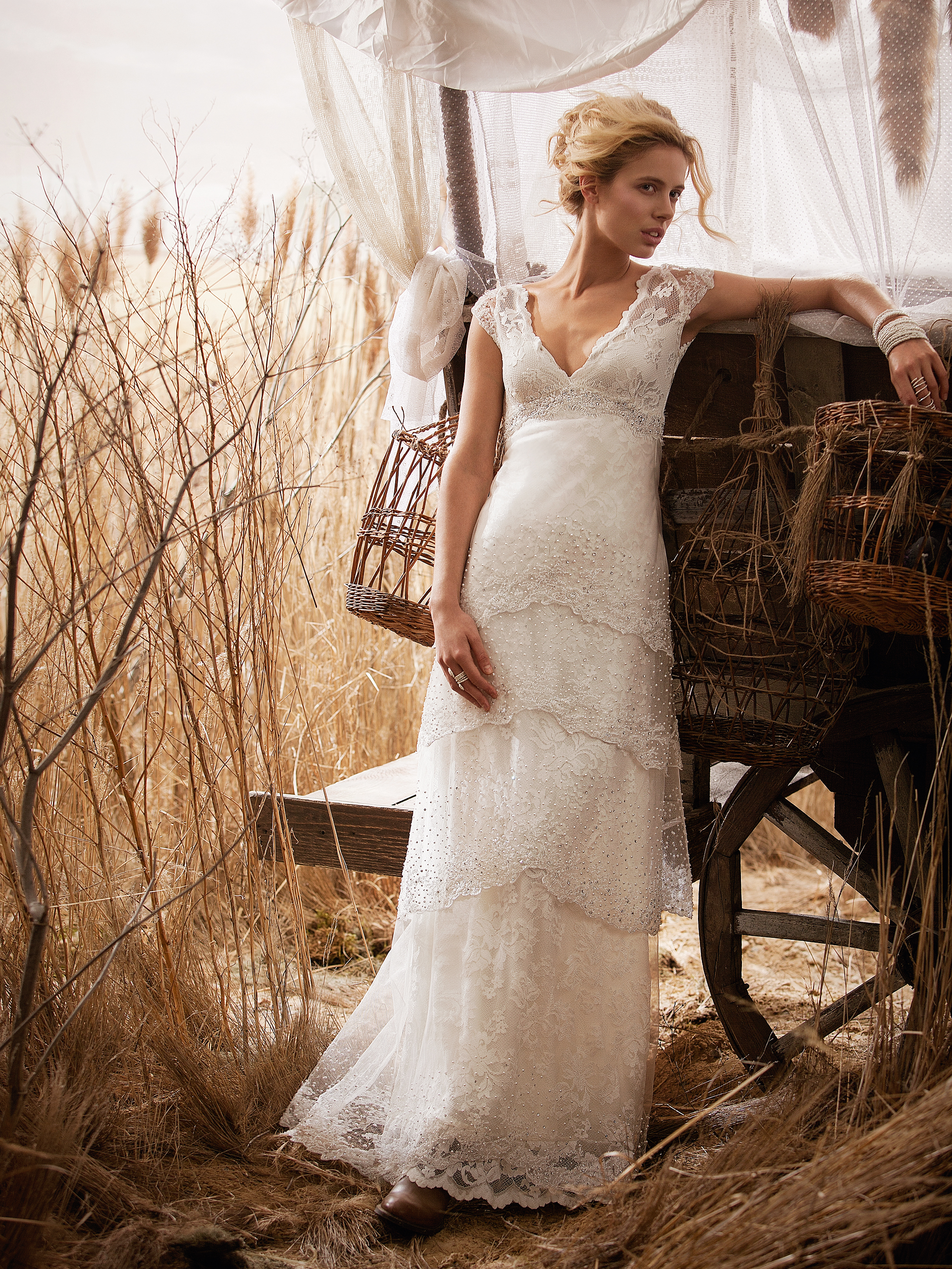 Wedding Gowns From Olvis - Rustic Wedding Chic
