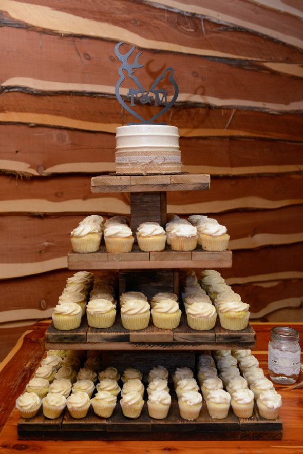 Country Wedding Cupcakes