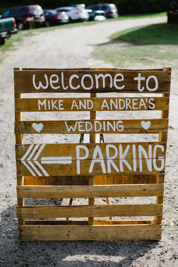 15 Pallet Sign Ideas For Your Wedding Rustic Wedding Chic