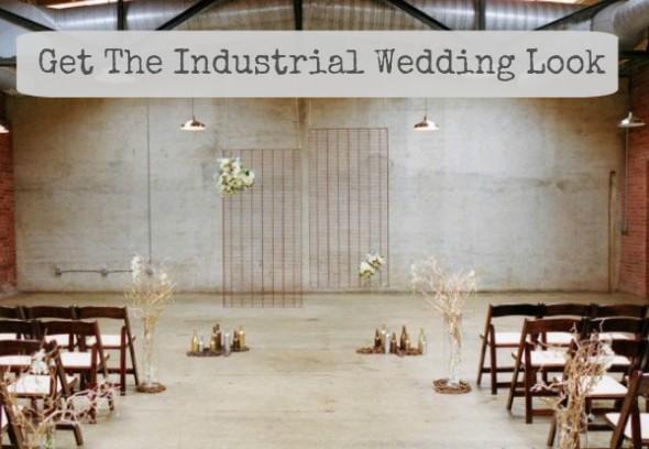 Ways To Get The Industrial Wedding Look