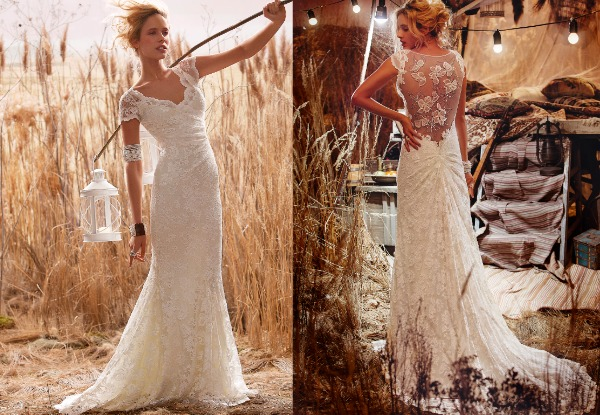 Rustic Wedding Gown