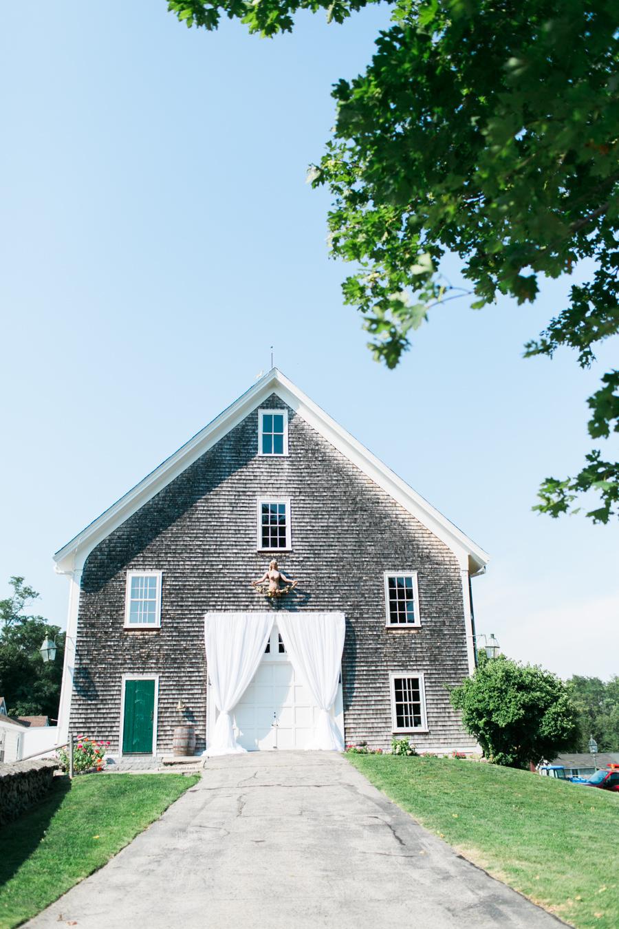 Elegant Rhode Island Barn Wedding Rustic Wedding Chic