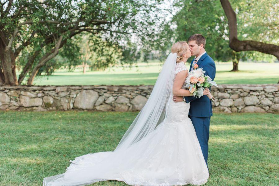 Elegant Rhode Island Barn Wedding - Rustic Wedding Chic