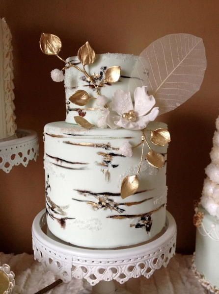 Winter Wedding Cakes That Wow Rustic Wedding Chic
